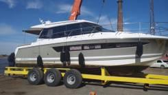 Прицеп для катера или яхты 16 метров до 50 тонн.
