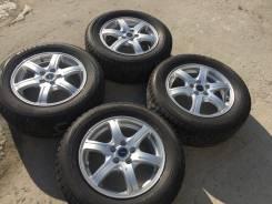 "205/60 R15 Bridgestone VRX литые диски 5х100 (L8-1507). 6.0x15"" 5x100.00 ET45"