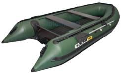 Надувная лодка Солар Максима 380 Jet Tunnel (под водометный двигатель)