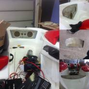 Ремонт лодок, стеклопластика, изготовление доп. элементов