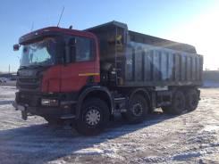Scania P400CB. 8х4,2013, 13 000куб. см., 33 000кг., 8x4