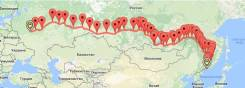 ЖД грузоперевозки скорыми поездами Владивосток-Москва за 7 дней.
