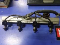 Топливная рейка+форсунки+датчик температуры Honda CR-V  B20B