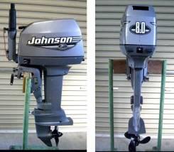 Продам Лодочный мотор Johnson 8 л. с Владивосток.