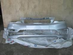 KIA RIO 14- Бампер передний окрашенный серебристый RHM (865114Y500)