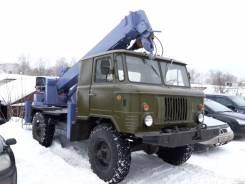 ГАЗ 66. 4WD Автобуровая, ямобур, бурильно крановая машина на шасси ГАЗ66 4WD, 5 200куб. см., 3 000кг.