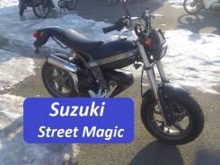 Suzuki Street Magic. 49куб. см., исправен, без птс, без пробега. Под заказ