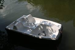 Новый катамаран (водный велосипед) из стеклопластика по доступной цене