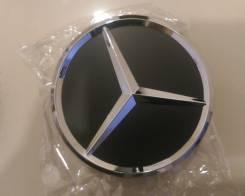 Комплект колпаков  Mercedes черные 75мм