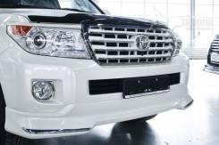 Фара противотуманная Комплект Toyota Land Cruiser с ободками