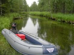 Надувная лодка НДНД Флагман 420 IGLA