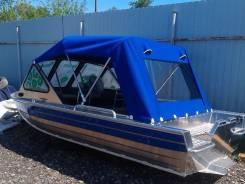 Универсальный алюминиевый катер Rusboat 430 JET.