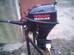 Лодочный мотор Ниссан-марин 18 4-х тактный.
