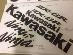 Наклейки мото Kawasaki ZX6R 2008г stickers dekal
