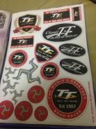 Наклейки sticker TT Isle of man Tourist Trophy
