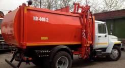 Мусоровоз ко-440 на базе газ-3309