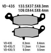 Передние тормозные накладки Kawasaki ER6N, Ninja 650, Versys 650