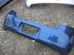 Бампер задний Toyota Vitz синий SCP90