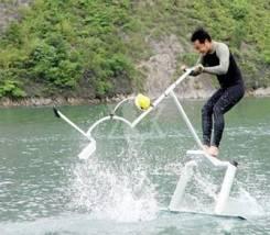 Акваскипер (Водный велосипед, aquaskipper, waterbird)