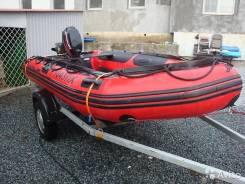 """Лодка(QuickSilver 380 ) + Прицеп лодочный """"МЗСА"""""""