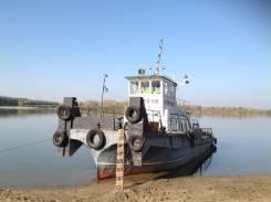 Буксир-Толкач, водомёт, мелкосидящий,1986г. в., проэкта Р-96В, ЯМЗ-300 л. с.