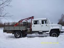 ГАЗ-33081 Бортовой с КМУ Чайка-Amco Veba. Модель 27844Е, 2012