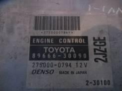 Блок управления двигателя 2JZGE VVTi 8966630090