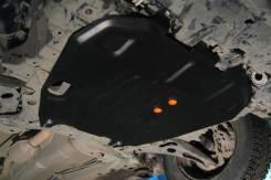 Защита картера и кпп для Outlander Lancer X Delica D5 2006-2012 сталь