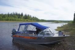 Продам цельносварную лодку Вельбот 45i двигатель ямаха F40FETS