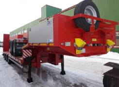 Steelbear. Полуприцеп тяжеловоз низкорамный платформа 11000мм , 45 000кг.