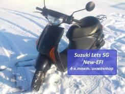 Suzuki Lets 5G New-EFI (4-х.такт. инжектор) + видео