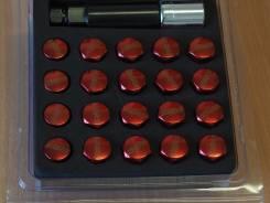 Спорт гайки Rays 20шт. шаг 1.5 Red [Hakolecax]