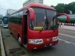 Аренда заказ автобуса с водителем недорого Hyundai Aero 20-32 мест ВЭФ