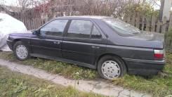 Стекло двери задней левой Peugeot 605