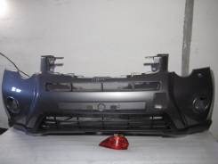Бампер. Nissan X-Trail, T31R Двигатели: M9R, MR20DE, QR25DE