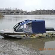 Тент на катер(лодку) с дугами.