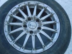 "Voltec на R15 5x115,3 лето на докатку Bridgestone 195/65 в сборе Japan. 6.5x15"" 5x114.30 ET40 ЦО 70,1мм."
