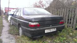 Стекло заднее. Peugeot 605