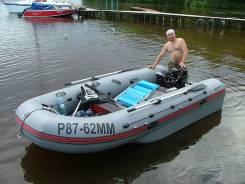 Продам или обменяю на автомобиль моторную лодку Добрыня 400 с двигател