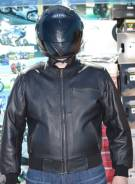 Кожаная куртка MB-sport