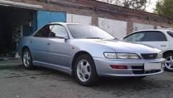 Стекло Toyota Carina ED , Corona Exiv 1993-1998г правое переднее б/у