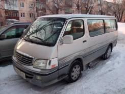Услуги микроавтобуса Toyota Hiace 2003 г. в 7 мест.