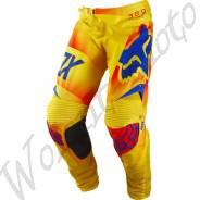 Штаны Fox 360 Flight Pant Orange размер:38 Желто оранжево синий 10767-009-38