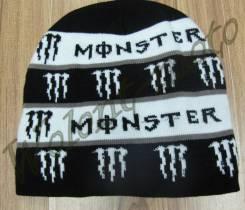 Шапка Monster Черно-белый