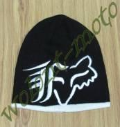 Шапка Fox Черно-белый