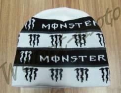 Шапка Monster Бело-черный