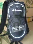 Рюкзак с поилкой Alpinestars черный с белым