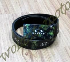 Ремень Dakley бляшка черно-зеленая черно-фиолетвый