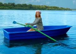 Весельная лодка Малютка стеклопластиковая