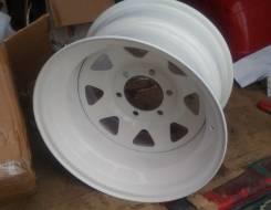 Один штампованный диск 10x16 6x139.7 ET-38 D108